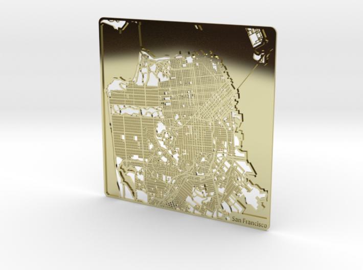 San Francisco 3d printed