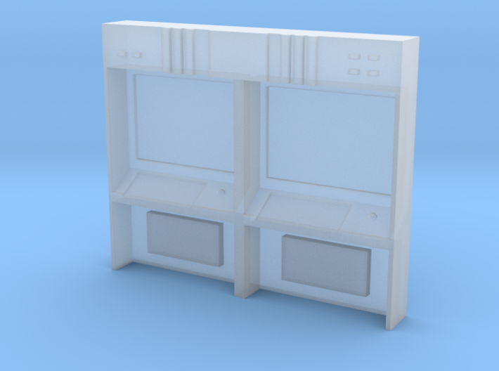 HO Scale Small Command Station 3d printed