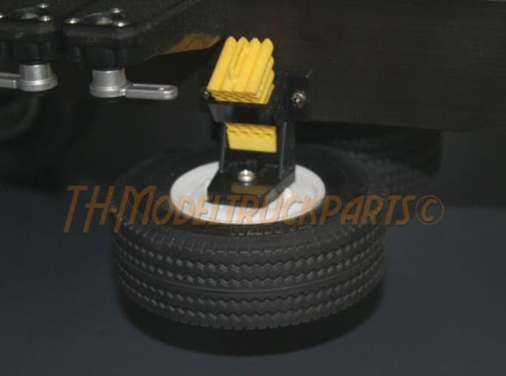 THM 04.8080 Spare wheel Tamiya trailer 3d printed