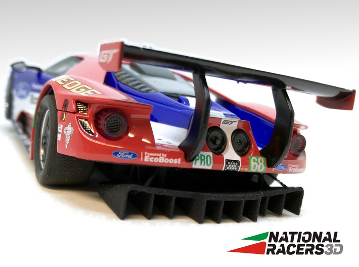 3D Chassis - Carrera Ford GT (Combo) 3d printed