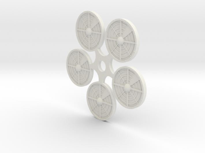 (5) Ambush/Sensor Tokens 3d printed