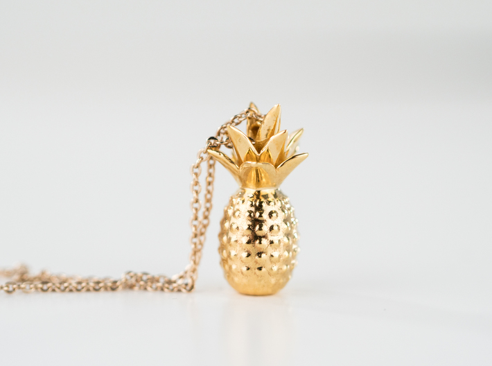 Tropical kiss 3d printed Tropical love pineapple by Universeyes