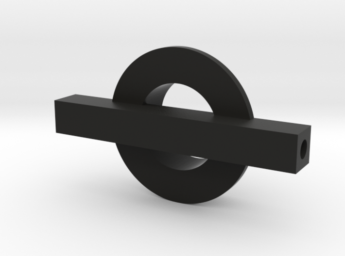 Steam Combine Steering Axle 3d printed