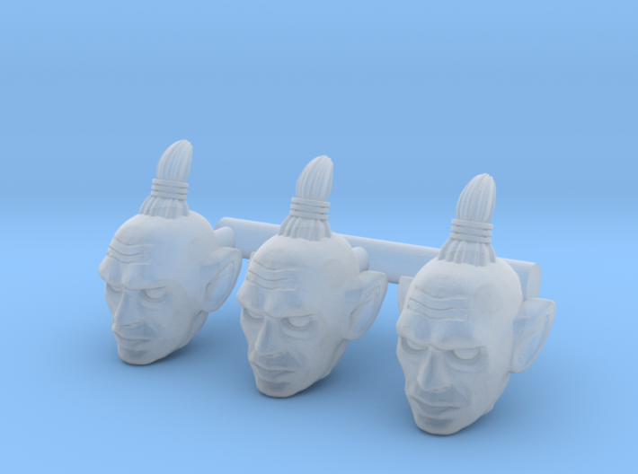 Baltard Head - Multisize 3d printed