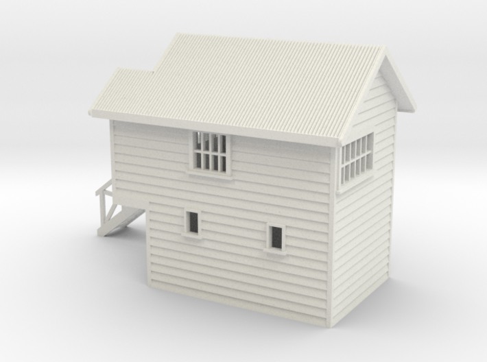 S Scale NZR Signal Box 1:64 3d printed