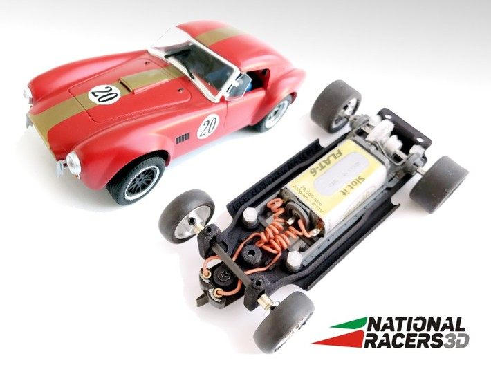 3D Chassis - MRRC Shelby Cobra MO-35 (Inline)