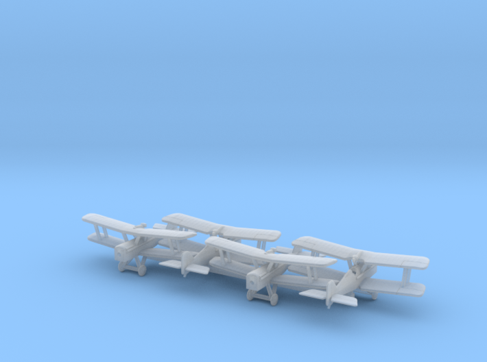 1/350 RAF SE5/5a x4 3d printed