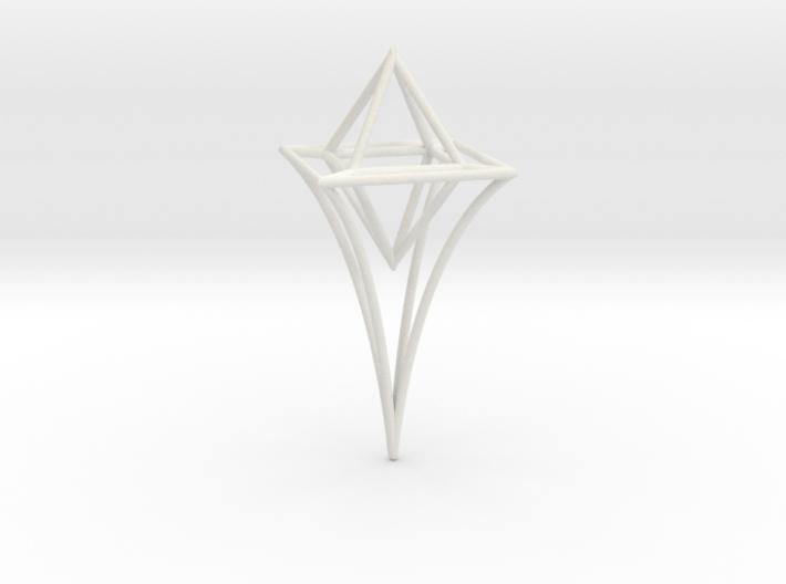 Celestial Scepter 3d printed