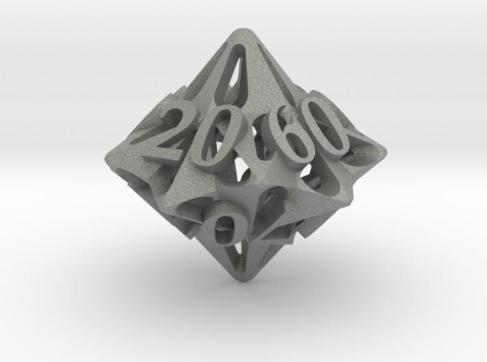 Pinwheel d10 Decader Ornament 3d printed
