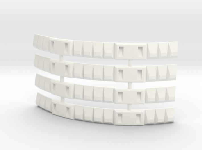 Mars Lander Wrap Type 2 (x4 pieces) 3d printed