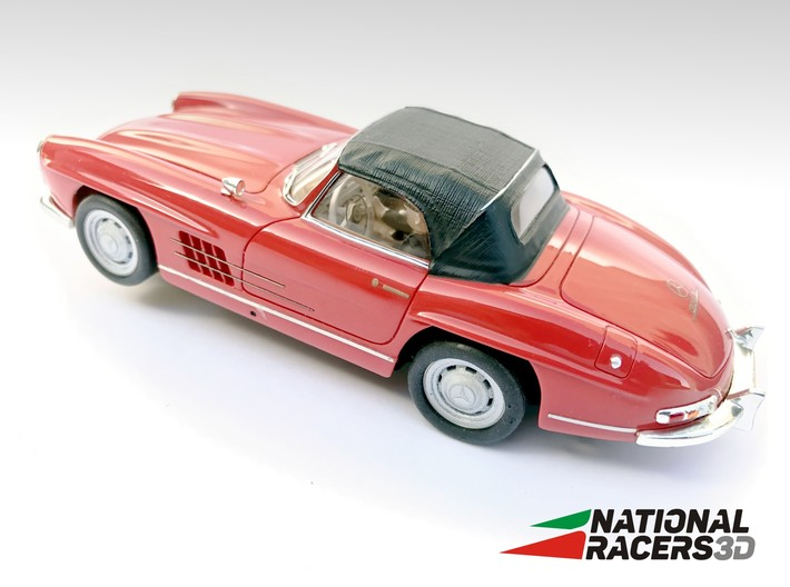 Chassis - Top Slot Mercedes Benz 300SL Roadster 3d printed