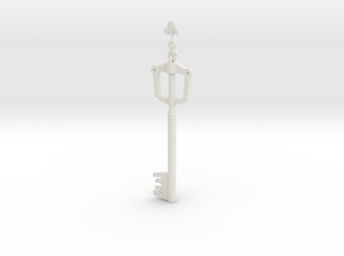 keyblade kingdom Key for gundam models 3d printed