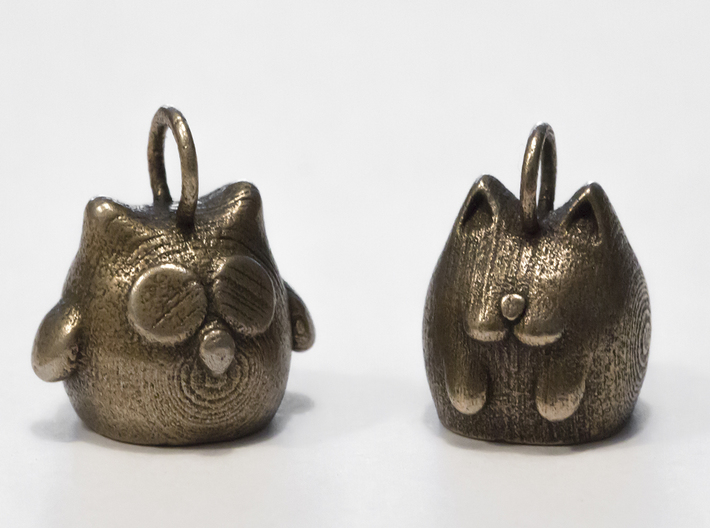 Cat Keychain 3d printed