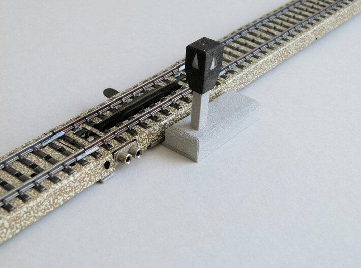 Märklin M-Gleis Entkuppler digital angesteuert 3d printed M-Gleis Entkuppler mit Decoder