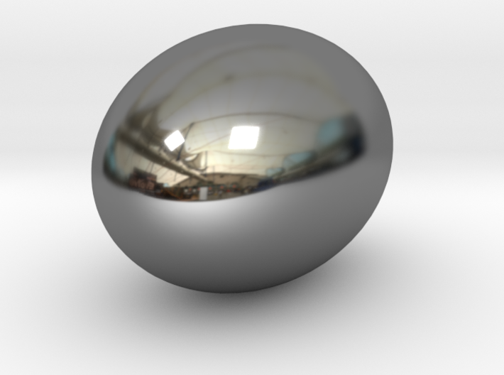 golden egg cabochon 3d printed