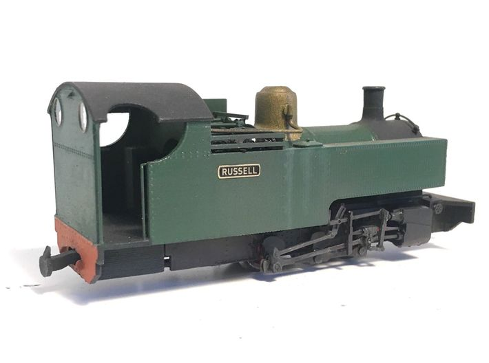 WHR RUSSELL (009) in cut-down condition 3d printed Model built by J.Hilton