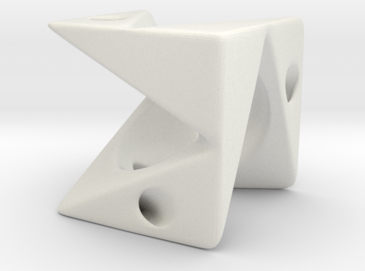 Cube Pendant Type A 3d printed