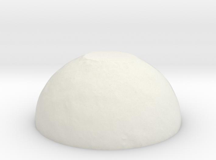 Snow Cap Planet 3d printed