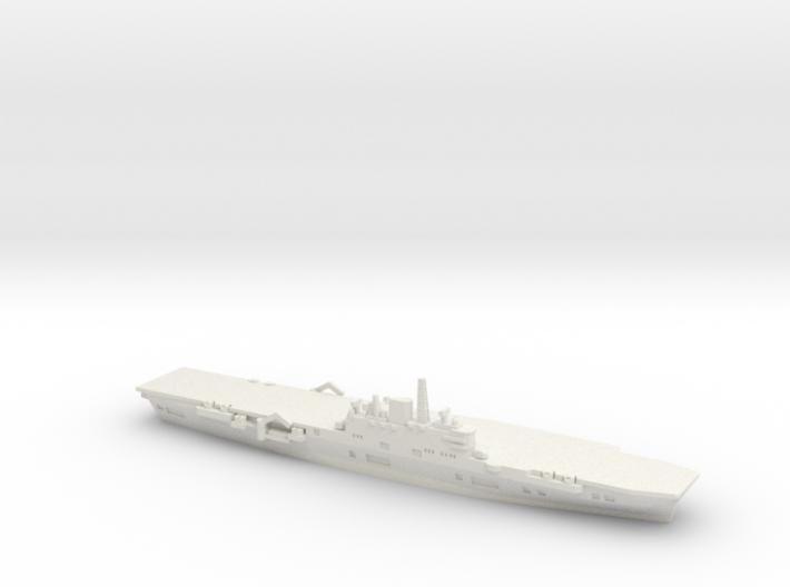 HMS Ark Royal R09 (1956), 1/1800 3d printed