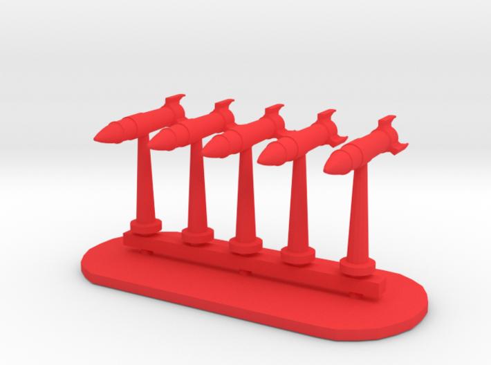 Rockets Sprue - Variant 5 3d printed