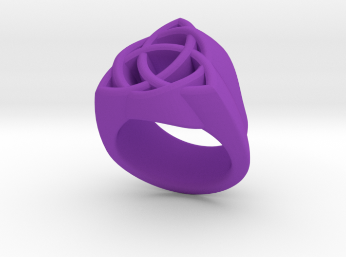 Triquetra Ring 3d printed Triquetra Ring