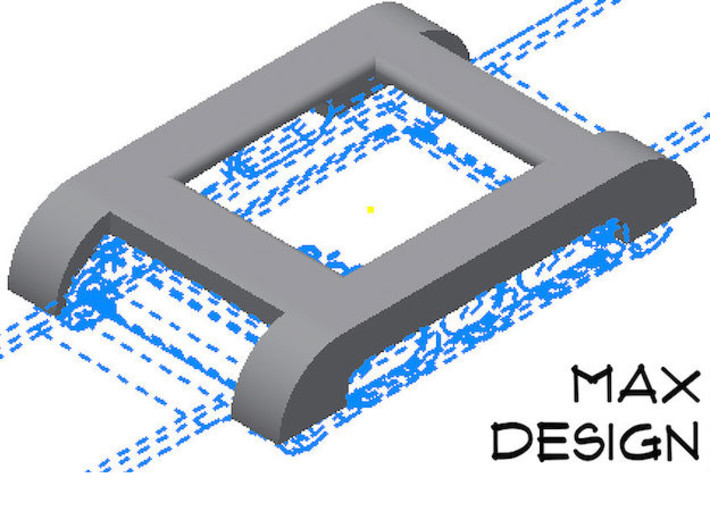 Pebble Watch Cover Max Design 3d printed