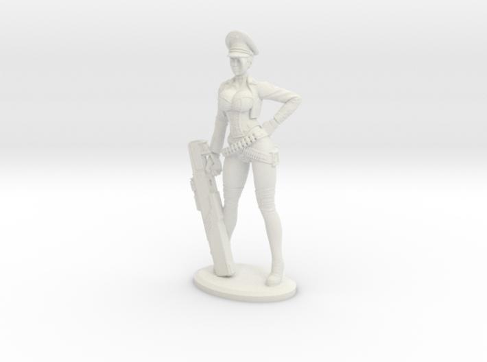 Bombshellshock Plastic 3d printed