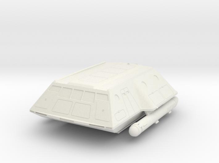 1:72 TOS shuttlecraft hollow 3d printed