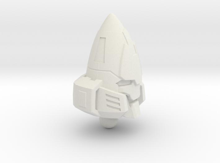 Zombie Combiner Gestalt Head - 1pc 6mm ball joint 3d printed