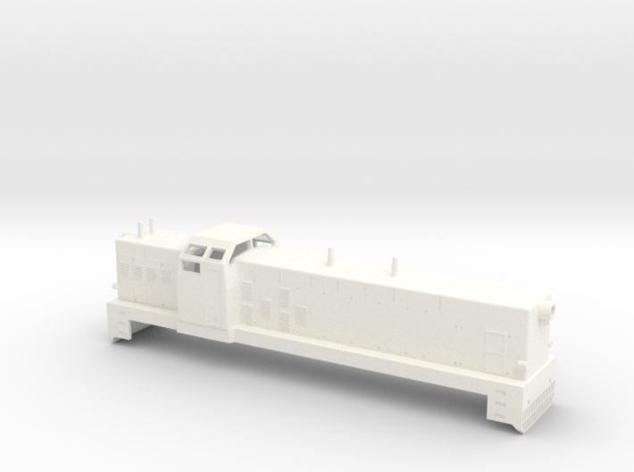 Swedish SJ diesel locomotive type T4 / T41- H0-sca 3d printed