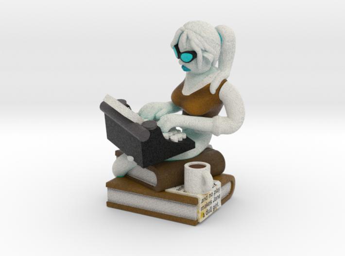 Ghostwriter 3d printed