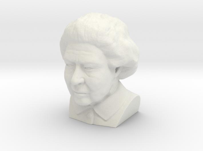 Queen Elizabeth bust  3d printed
