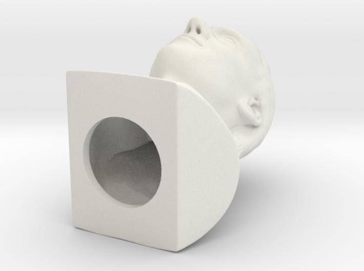 Loki bust 3d printed
