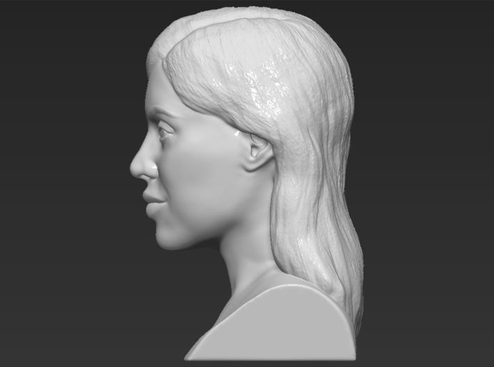 Kylie Jenner bust 3d printed
