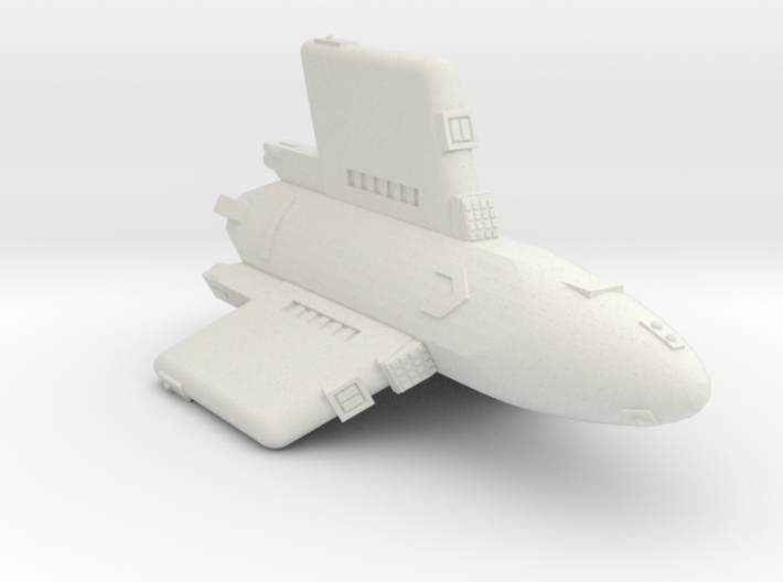 3788 Scale Hydran Pegasus Carrier CVN 3d printed