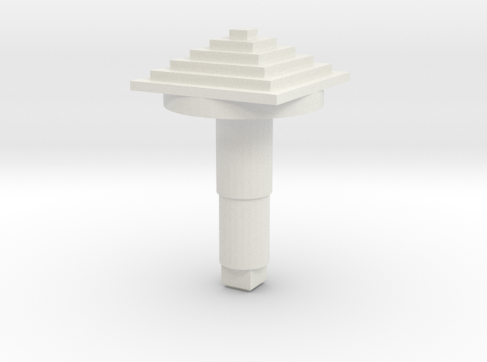 STEM_4WAY_COOLIE_6_PYRAMID 3d printed