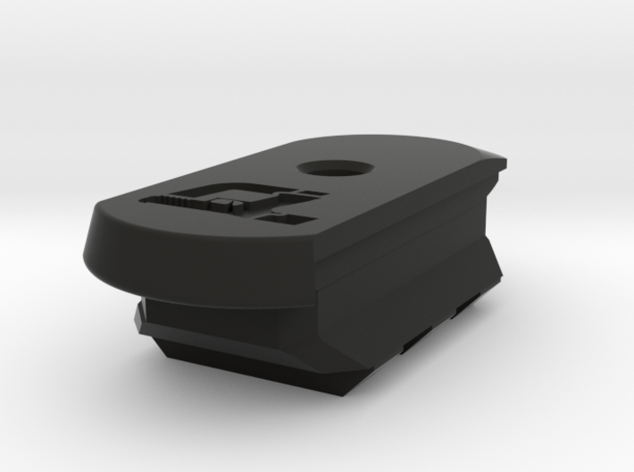 SIG P365 - 12 Round Base w/Rail 3d printed