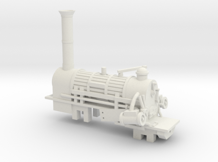 00 Scale Northumbrian Loco Scratch Aid 3d printed