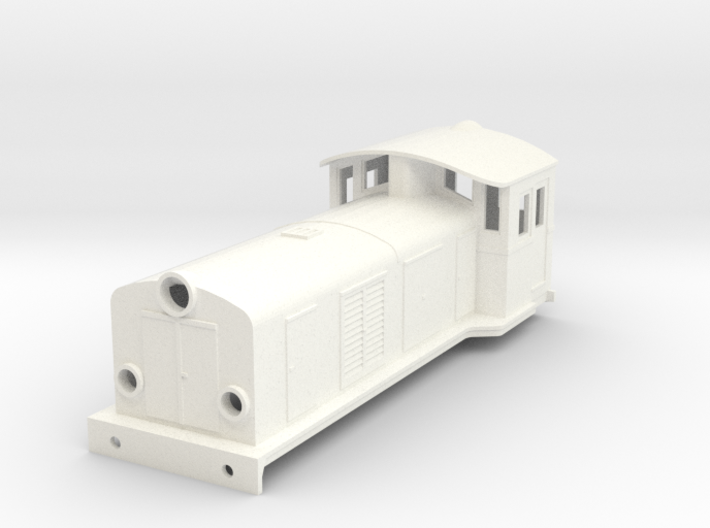 Swedish SJ electric locomotive type Ua - H0-scale 3d printed
