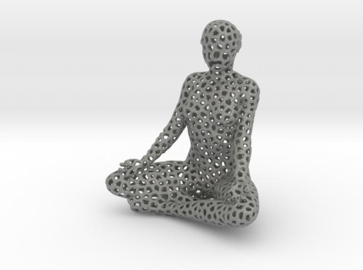 voronoi meditation 3d printed
