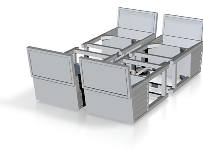 N 1:160 Planhaus 3d printed