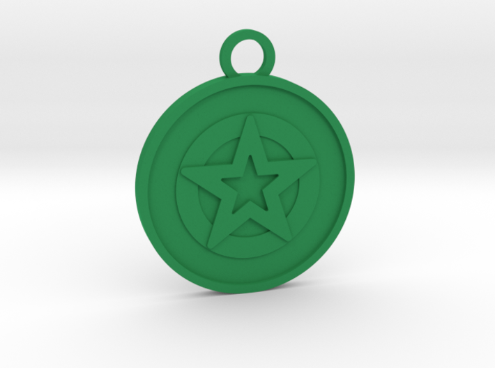 Ace of Pentacles 3d printed