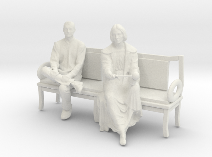 Printle C Couple 207 - 1/24 - wob 3d printed