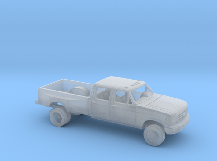 1/160 1992-96 Ford F Series Crew Dually Kit 3d printed