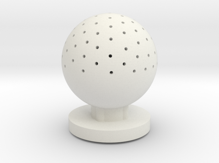 aquarium air bubbler sphere 3d printed
