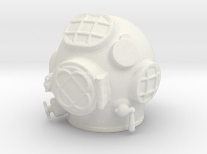 Diving helmet 1/6th scale 3d printed