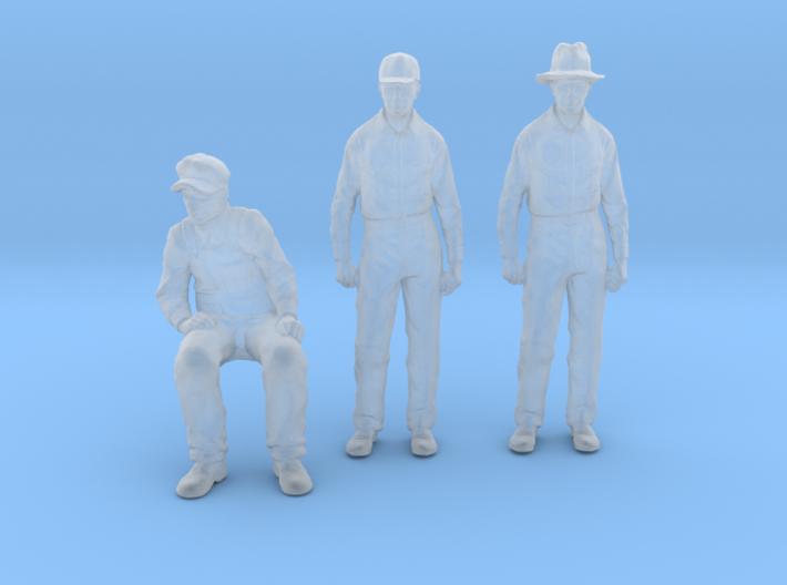 1-55 Scale figure pak6 3d printed