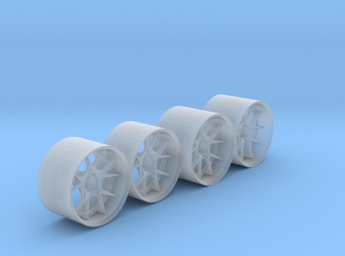 HyFo F40 Wheels 3d printed