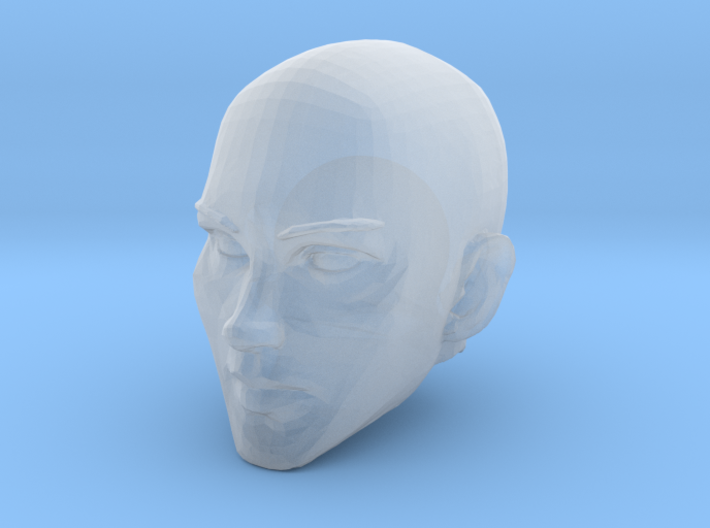Female Head Bald 2 3d printed Recommended