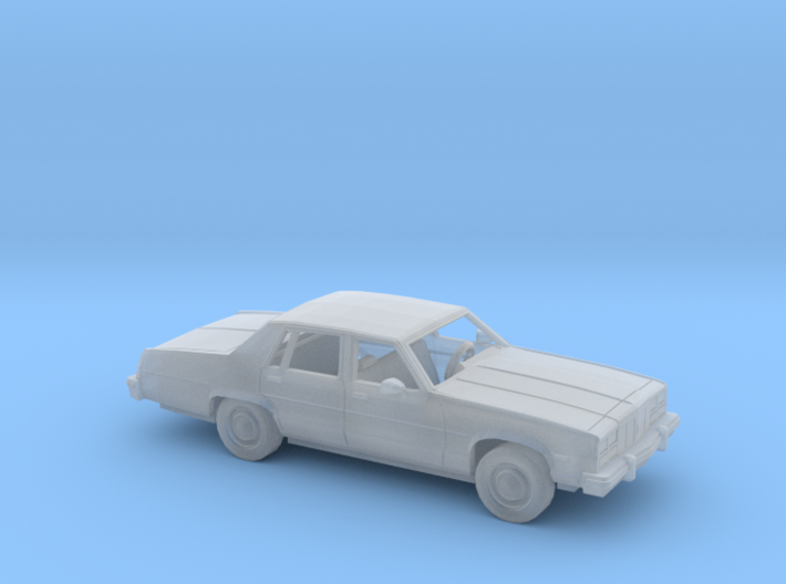 1/160 1977-79 Oldsmobile Delta 88 Sedan Kit 3d printed